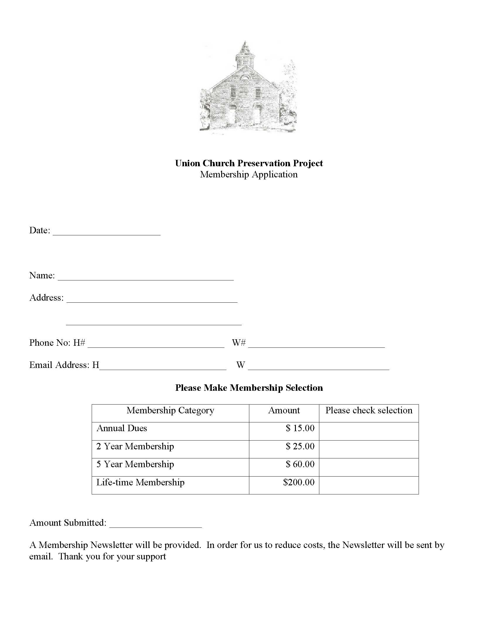 Union church preservation project become a member of ucpp click on image above for a pdf version of the application thecheapjerseys Image collections
